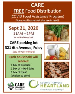 CARE Free Food Distribution